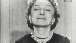 What's My Line? - Helen Hayes; Martin Gabel [panel] (Apr 14, 1957)