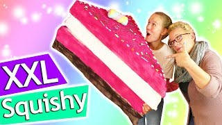 XXL Squishy selber machen | Riesen Anti-Stress DIY TORTE | Crazy Trends DIY Inspiration deutsch