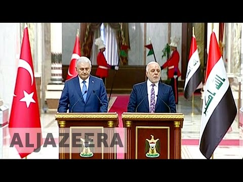 Turkey PM Binali Yildirim in Iraq to boost ties