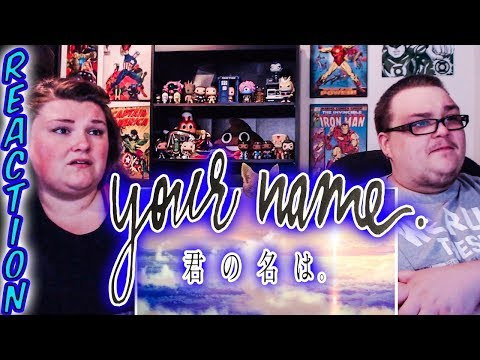 """Your Name"" Kimi No Na Wa MOVIE REACTION!!!"