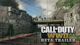 Call of Duty WWII BETA TRAILER! HOLY ****!
