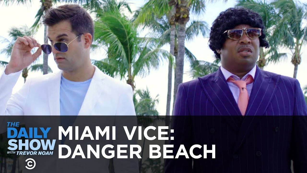 miami-vice-danger-beach-the-daily-show