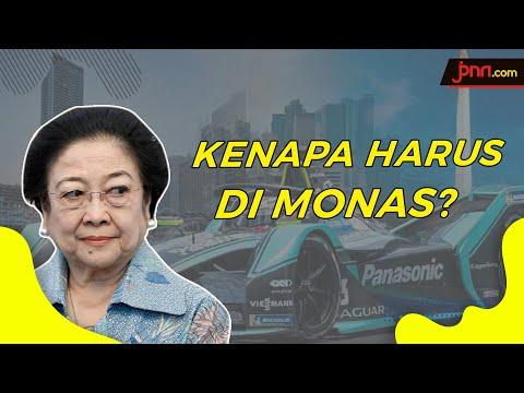 Megawati, Kenapa sih Formula E Harus di Monas?