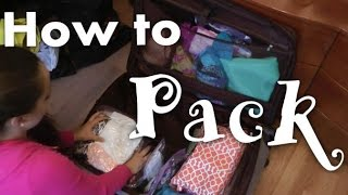 ♥ How to Pack Your Suitcase Efficiently ♥