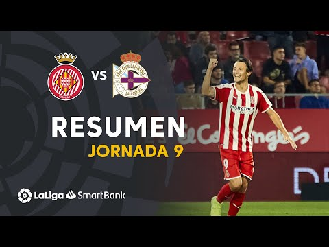 VIDEO Resumen de Girona FC vs RC Deportivo (3-1)