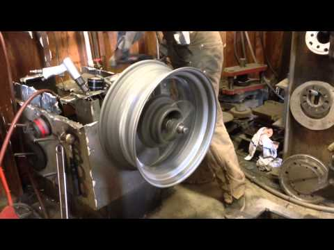"""Jimmy McLean 20""""x8"""" street rod wire wheels"""