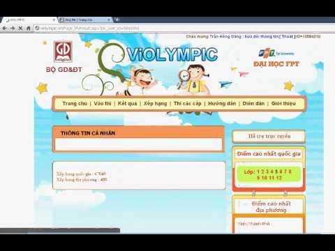 Hack Violympic xD