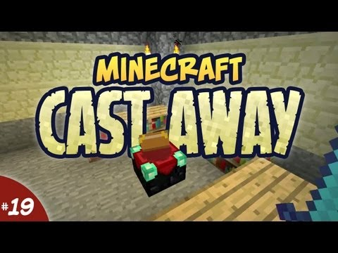 Minecraft Cast Away - #19 - Bane of Enchanting Tables