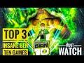 TOP 3 INSANE Ben Ten Games On PLAY STORE!