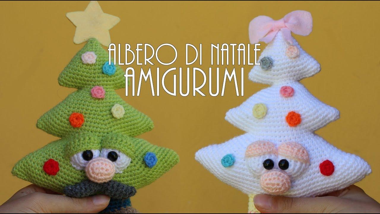 Albero Di Natale Uncinetto Youtube.Albero Di Natale Amigurumi Alberto L Alberello Annalisa L Alberina Youtube