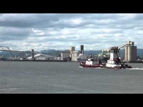 Shaver Transportation River Shots: Deschutes Pushing The Portland