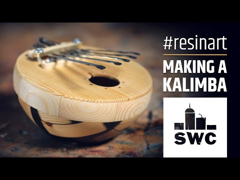 How to make a kalimba out of epoxy resin and wood