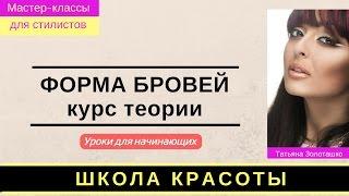 МК БРОВИ Теория Золоташко Татьяна