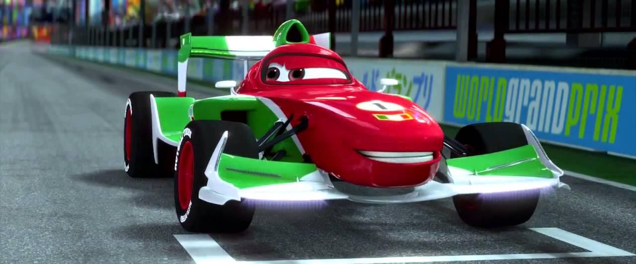 Pixar Cars Movie Clip Japan Race High Def Youtube