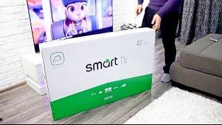 Купил самый дешевый украинский Kivi 4K Smart TV за 450💲 Зачем платить больше?!