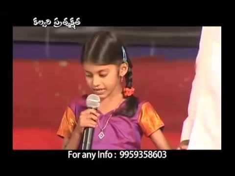 Song by Baby Akshaya Praveen Very nice TUne