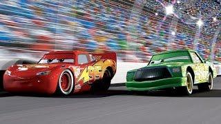 Тачки Молния Маквин Гран-При 3 гонки подряд. Мультик Игра для детей. Машинки. Мультики (3 часть)