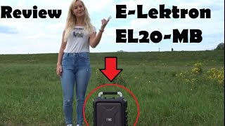 Mobile PA-Anlage E-Lektron EL20-MB [Review/Test]