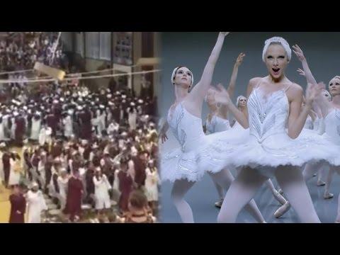 HS Graduates Flashmob to Taylor Swift's 'Shake it Off'