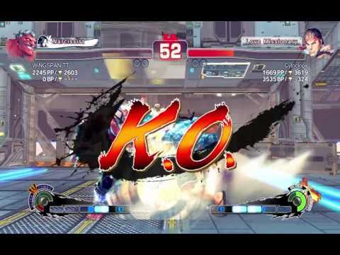 Ultra Street Fighter IV Ranked Vega/Hakan/Dan Scrubfest -- Twitch Stream Archive