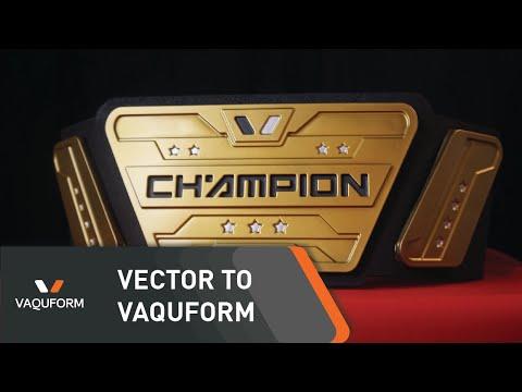 Vaquform: Making A Championship Belt