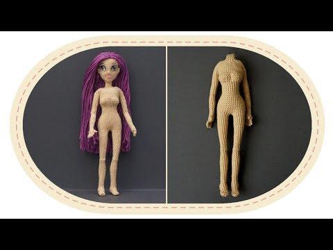 Кукла барби крючком схема описание