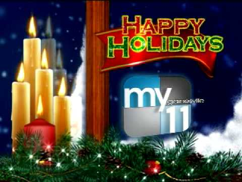 Happy Holidays from Gainesville's My11