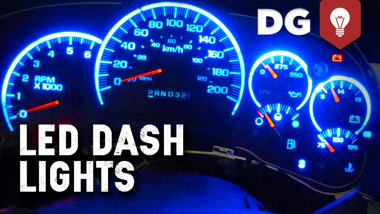Silverado 2003 chevy silverado dash cluster : How To Replace GM Stepper Motor & LED Lights In Dash - YouTube