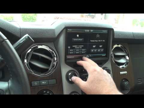 HD VIDEO 2014 FORD F250 LARIAT 4X4 DIESEL XD SERIES FOR SALE SEE WWW SUNSETMOTORS COM