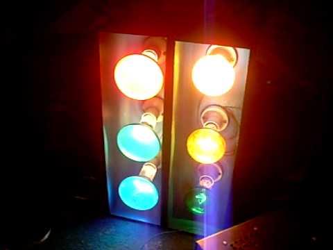 Homemade disco lights youtube for Homemade lantern lights