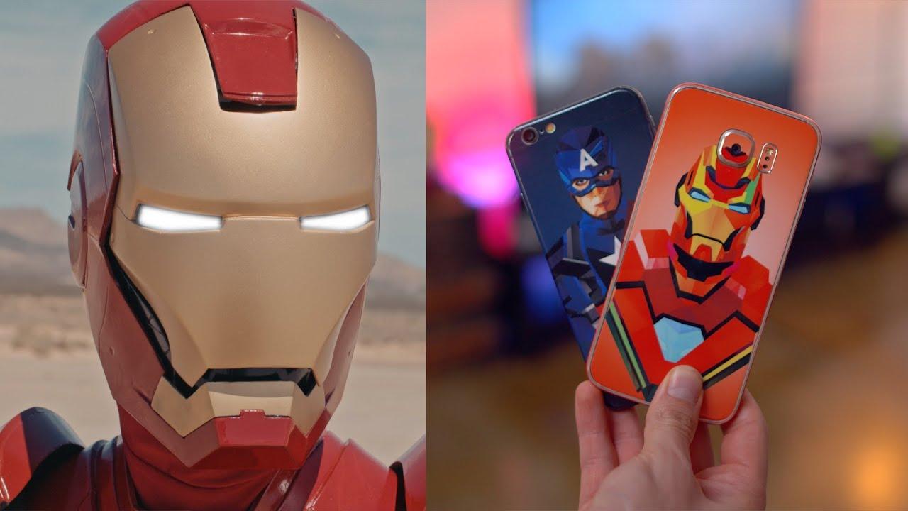 Iphone wallpaper hd captain america - Iron Man Vs Captain America Civil War Parody Youtube