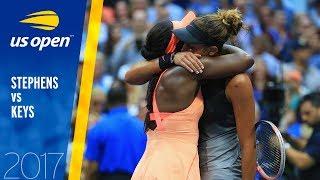 Sloane Stephens vs. Madison Keys | 2017 US Open Final | Full Match