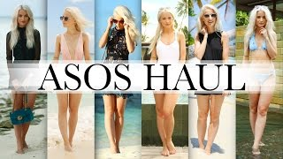 ASOS HAUL, TRY ON AND WHAT I PACKED FOR THE MALDIVES