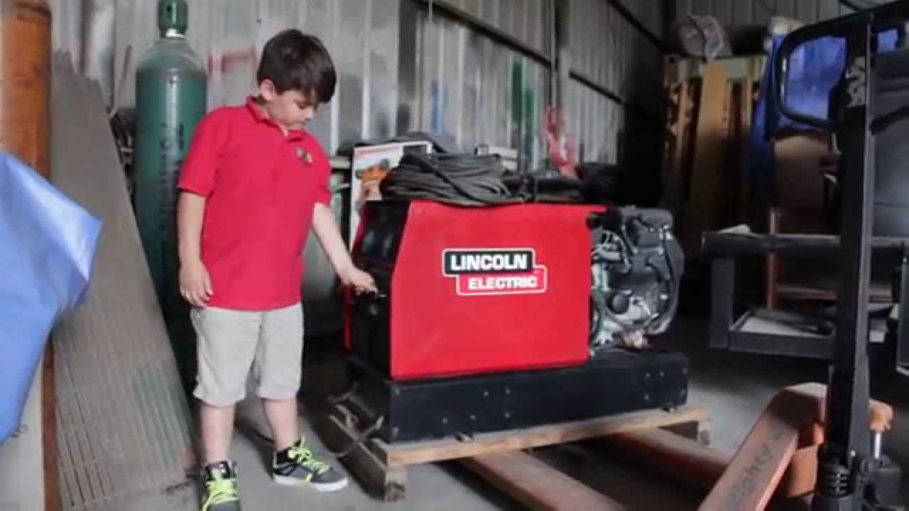 lincoln electric ranger 10 000 plus welding machine