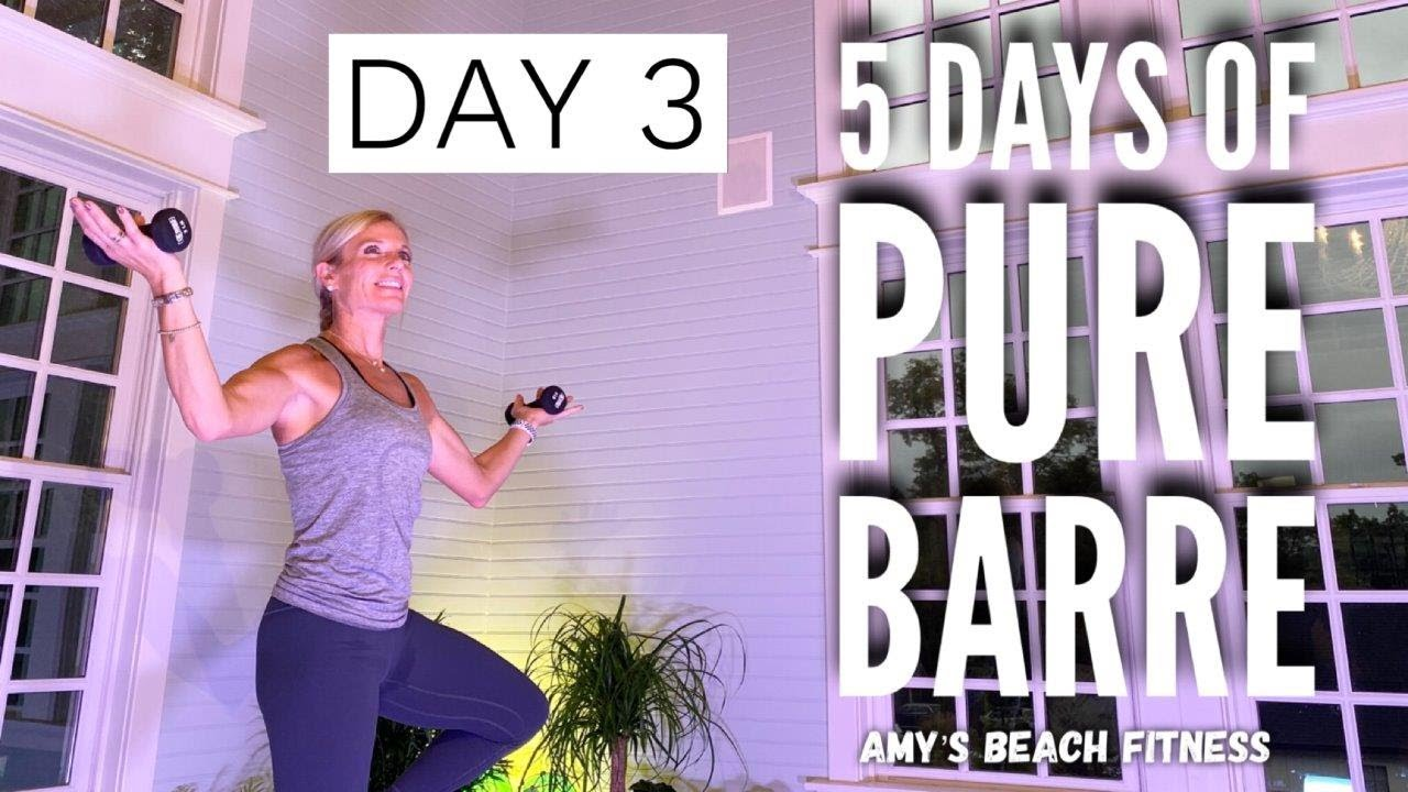 5 Days of PURE BARRE Workouts - Day 3