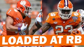 Clemson RB Room Is Loaded With Talent