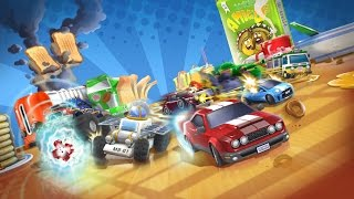 Toybox Turbos Car Race Gameplay Games For Kids - Gry Dla Dzieci
