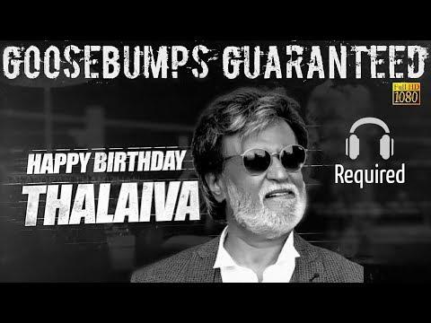 Tribute for Thalaivar Rajinikanth Birthday   All Thalaivar Fans Must watch   Special Whatsapp Status