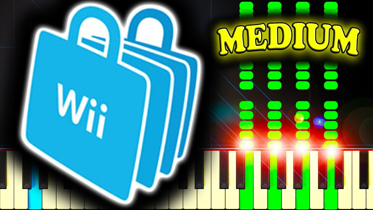how to play wii on piano