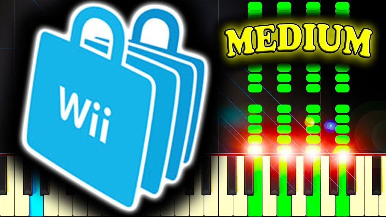 Mii channel theme virtual piano