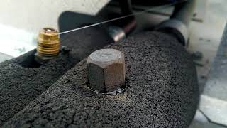 NYLOG THREAD & GASKET SEALANT: SEALING A SCHRADER CAP - BY HVAC KNOW IT ALL