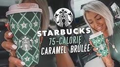 Starbucks 75 Calorie Caramel Brûlée Drink