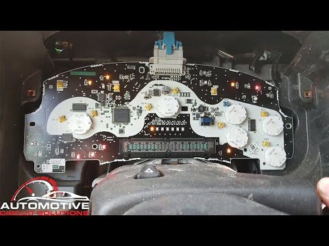 2002-2009 Trailblazer / Envoy How To Remove Dash Cluster For Repair | Interesting Issue