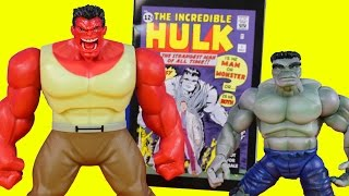 Marvel Legends The Incredible Hulk Smash Toy Collection Galactus Series Grey And Red Hulk