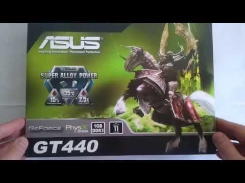 Видеокарта Asus GT440 1 gb [Обзор и Тест]