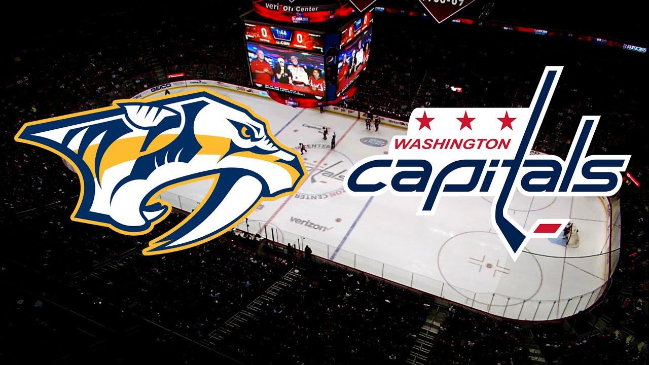 """Résultat de recherche d'images pour """"Nashville Predators vs Washington Capitals"""""""