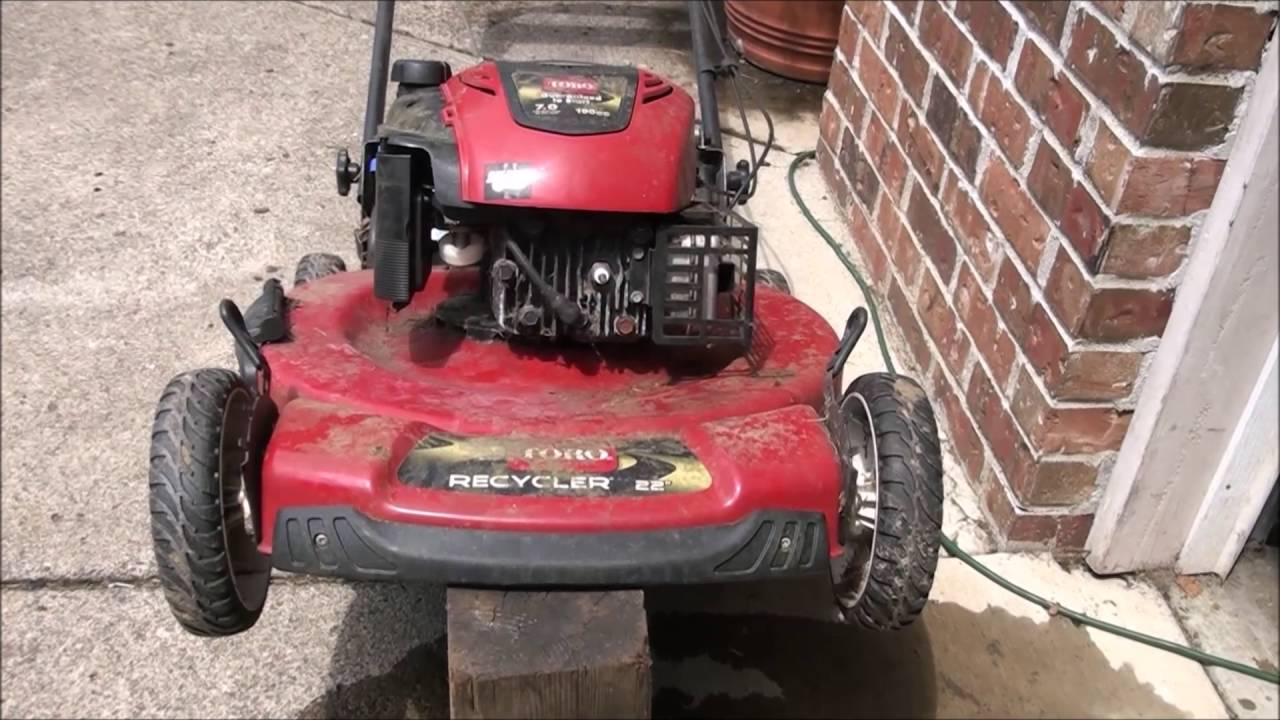 How To Fix A Toro Lawnmower That Will Not Start Or Run Fuel Delivery Problems Repaired Easy