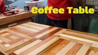 Building a coffee table