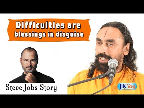 Steve Jobs Story | Difficulties Are Blessings In Disguise