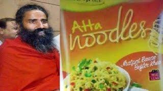 Ramdev Launches Atta Noodles Before Maggi Returns